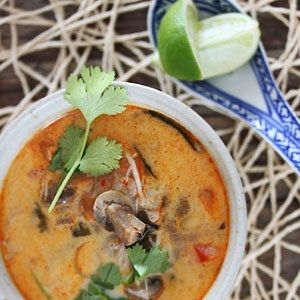 Tom Kha Gai chicken soup