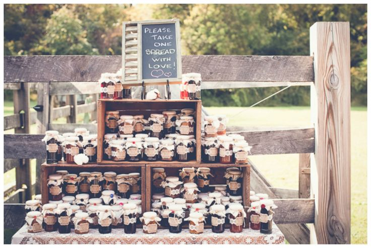 Vintage Farm Wedding Favors
