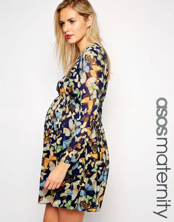 Grandiosos vestidos casuales para embarazadas 2015