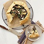 Rustic Chard, Potato, and Goat Cheese Tart Recipe | MyRecipes.com