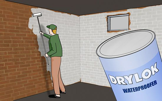 """How to Waterproof Your Basement: 8 steps (with pictures)""... I think I needed this BEFORE the basement flood of 2012!! LoL!!!"