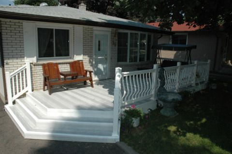 If your ramp features aluminum or vinyl rail, be prepared to install a cut piece of deck board or a 2×4 along the edge of the ramp. Description from shaneexplains.com. I searched for this on bing.com/images
