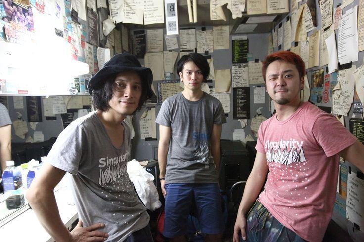 [jizue new album「story」release tour ]、 京都&名古屋、jizue との2日間有難うございました! Schroeder-Headz w/玉木正太郎(Ba)、鈴木浩之(Dr) (写真は、京都公演)