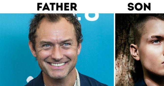 14 Sons Whose Handsomeness Can Outshine Their Celebrity Dads