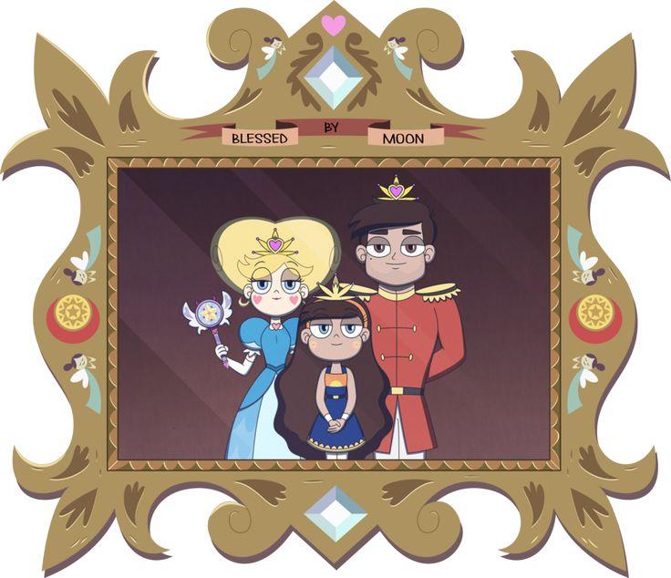 Mewni's Royal Family Portrait by jgss0109