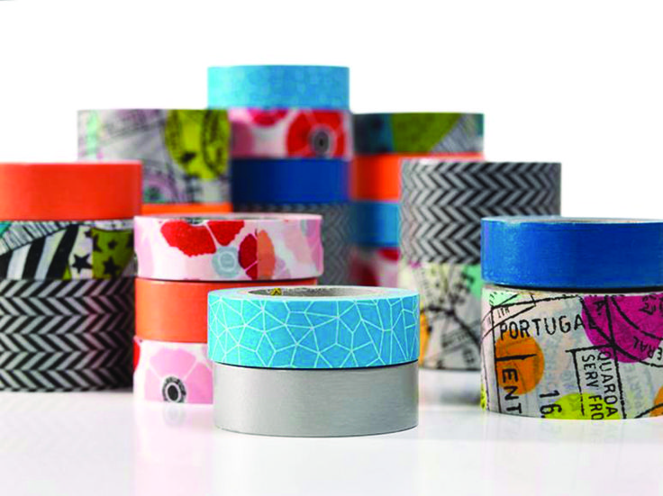 Colour-trending tapes from Scotch (3M Products)