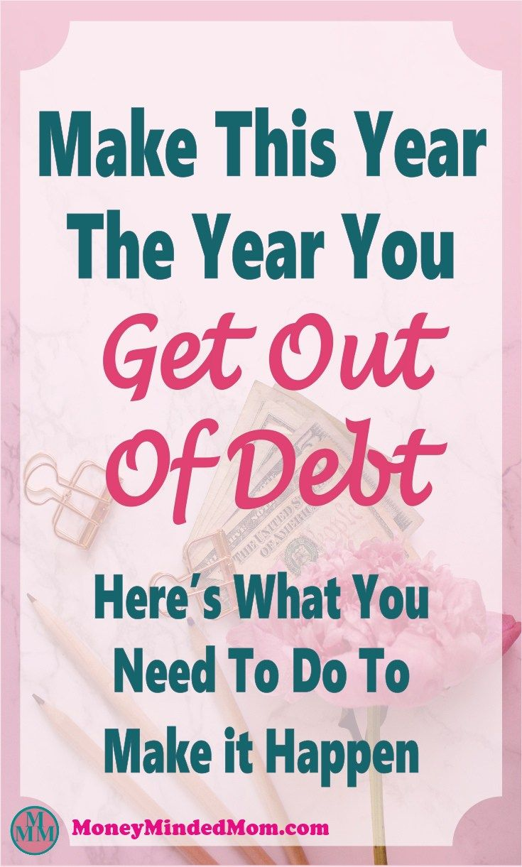 How To Dig Yourself Out of Debt ~ Paying off debt is really difficult, especially when living from paycheck to paycheck. But it can be done, click over to read how. debt | debt payoff | money | paying off debt | debt free #debt #money #finance #debtfree #NewYears #Resolution #goal