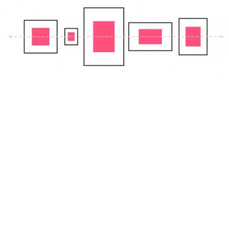 Bilder aufhängen - Die richtige Anordnung