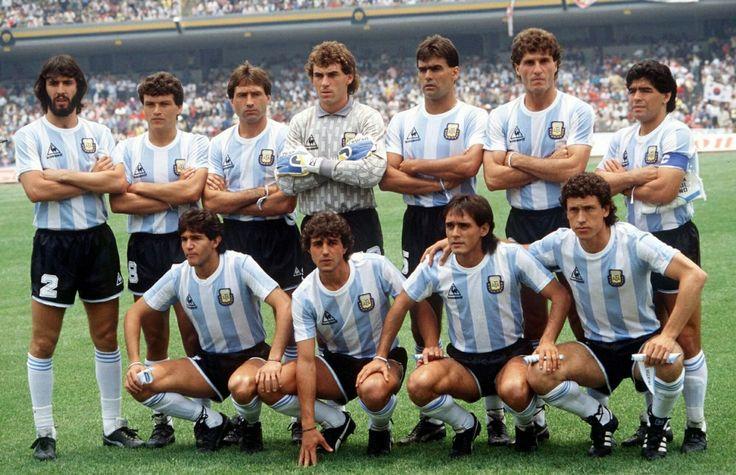 Argentina Campeon Mundial 1986.