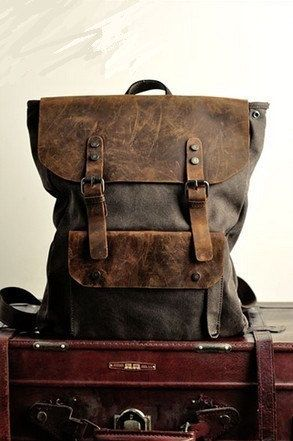 From http://canvasbag.co/product/army-green-canvas-backpack-canvas-bag-student-canvas-backpack-leisure-bag-canvas-shoulder-bag/