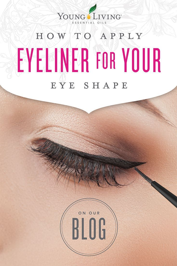 How To Apply Eyeliner For Your Eye Shape Love My Oils How To