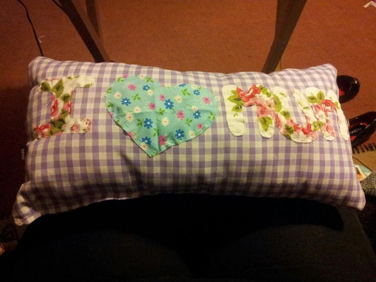 iPad cushion for Mum. She finds it really useful when shes using her iPad in bed.