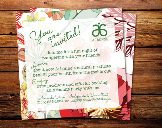 Arbonne Ladies Night Out Please Read This Is Not A