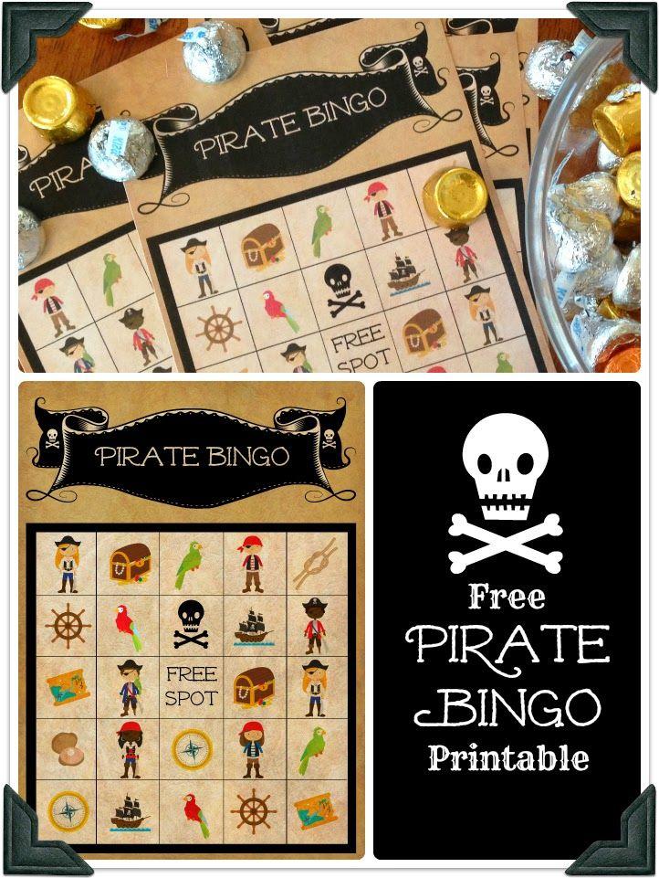 Weekending With Pirates || Free Pirate Bingo Printable || Bringing Up Brumfields