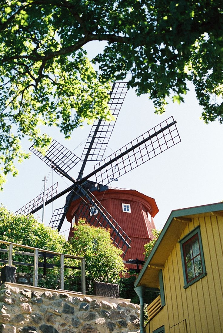 old mill in Strängnäs, Sweden. Photo by Danish lifestyle photographer Camilla Jorvad. Captured on fuji400 film. www.camillajorvadblog.com