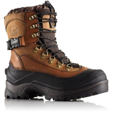 Sorel Men's Conquest Boots - Bark: Rugged durable and waterproof. Sorel Men`s Conquest Boots feature… #Outdoors #OutdoorsSupplies