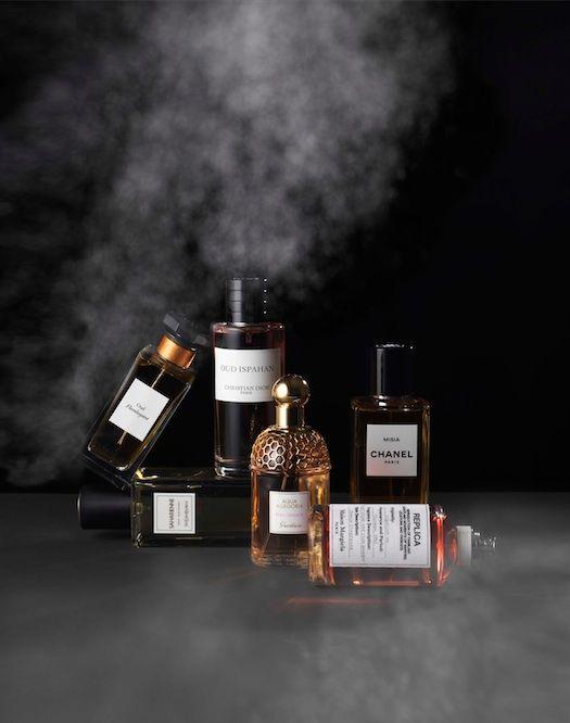 Beauty in JAN Magazine Photography by Frank Brandwijk I 'Famous Smoky Odors on Black' 'Perfume'