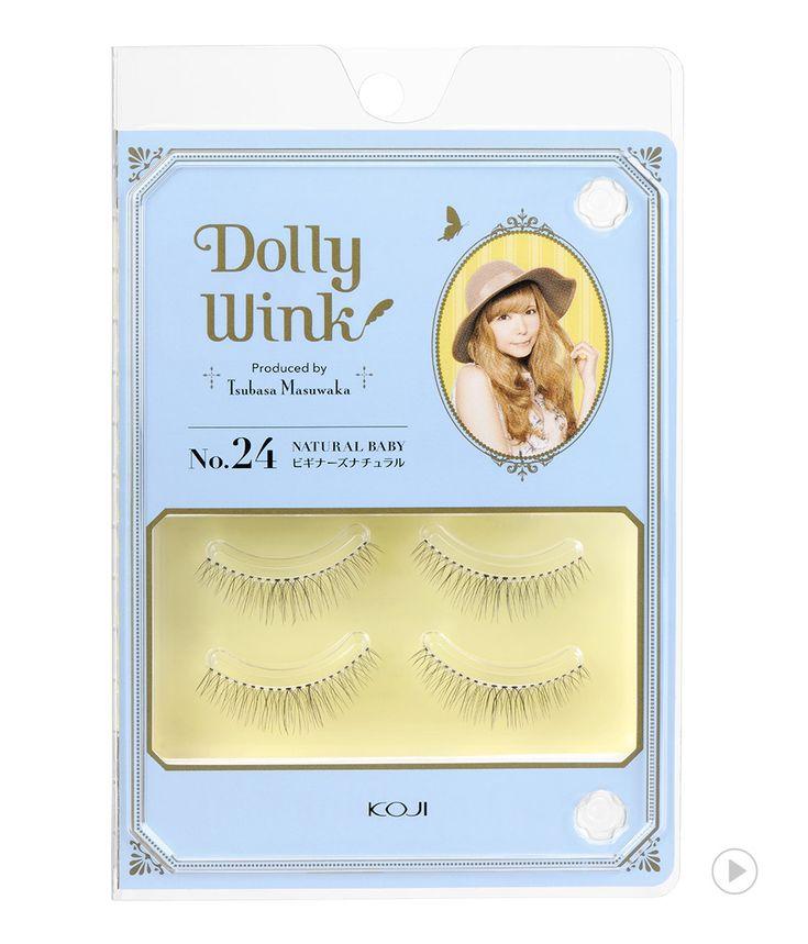 Dolly Wink Eyelash No.24 Natural Baby