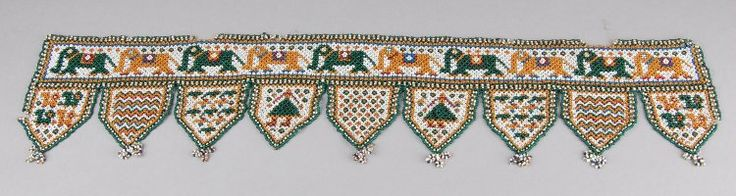 Ornament made of beads