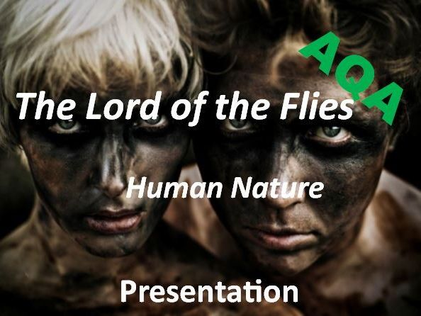 lord of the flies human nature thesis In william golding's lord of the flies the conch represents law and order the boys impose a rule of the conch on themselves, deciding that no one can speak unless he's holding the conch.