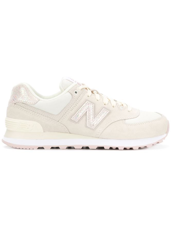 new style 65de2 1e116 Durable New Balance 574 Sneakers [White/White] For Women ...