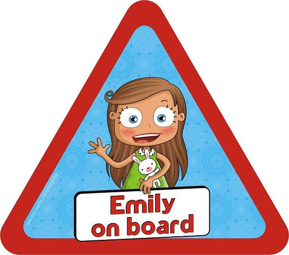 Custom on board sticker  Made to order  Baby on board
