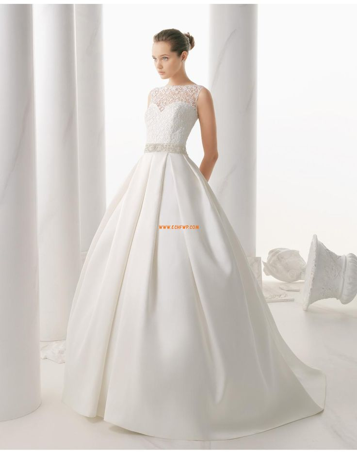 Ball Gown/Askunge Scoop Ärmlös Bröllopsklänningar 2015
