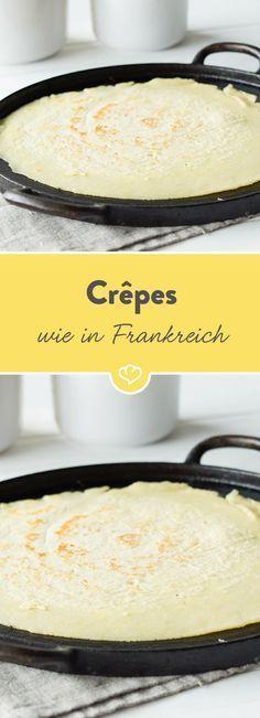 Französische Crêpes – das Grundrezept