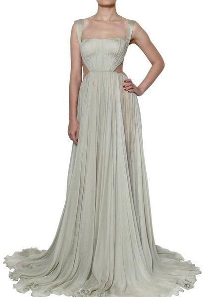 Maria Lucia Hohan ~ Silk Muslin Dress