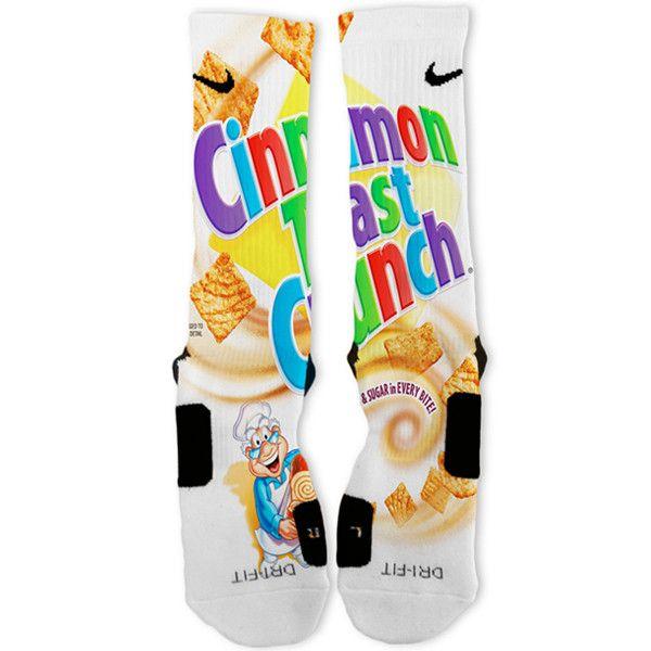 Cinnamon Toast Crunch Custom Nike Elite Socks – Fresh Elites