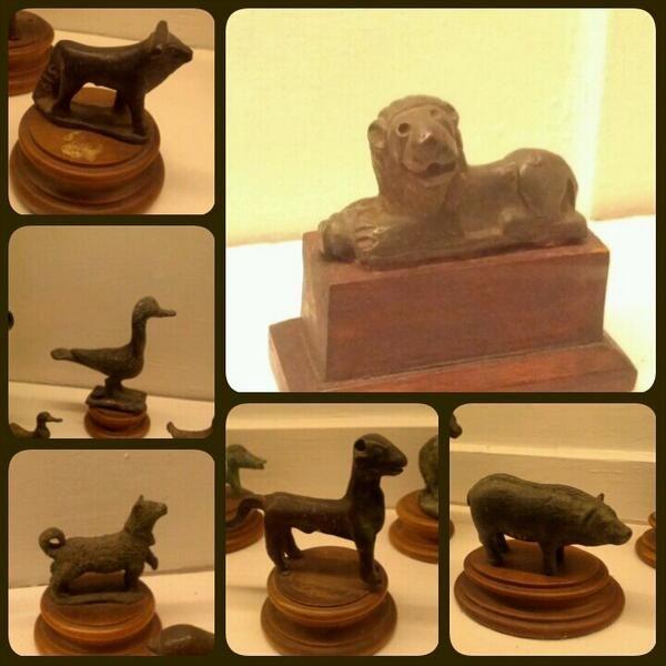 #bronzetti etruschi di animali al #MAF