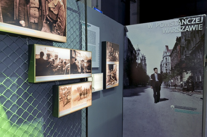 Cichociemni exhibition in Warsaw Rising Museum || designed by Piotr Matosek