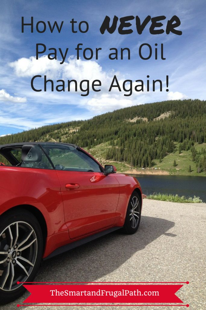 Stop paying for your oil changes and get them for free! I wish I would have known this years ago! The Smart and frugal Path