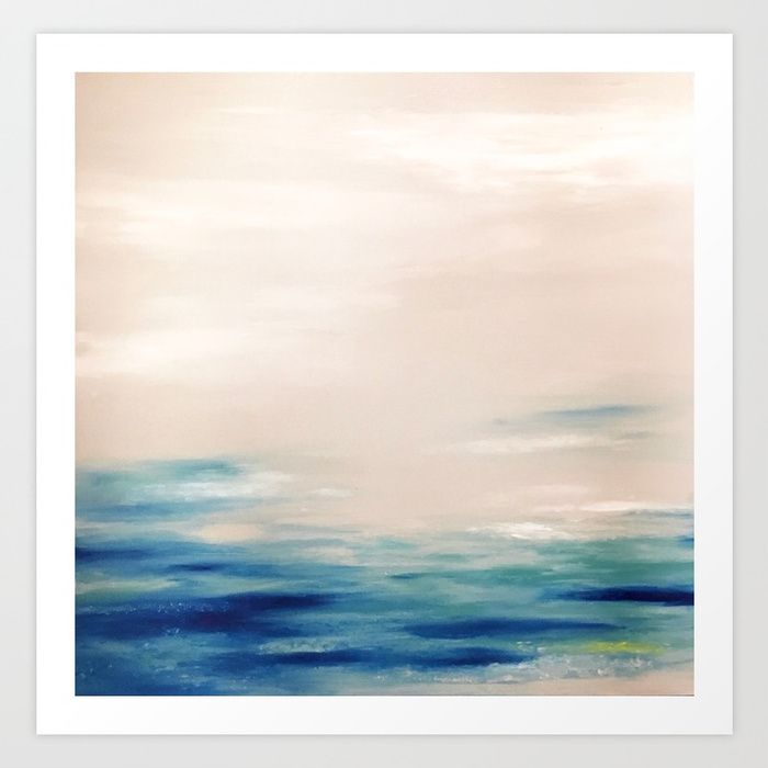 Cloudy Day Art Print by sophie_lemieux | Society6