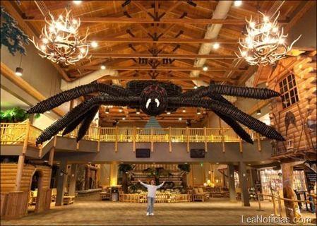 ¡La araña de globos mas grandes del mundo! (Fotos)…