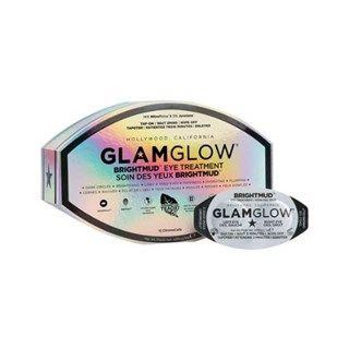GlamGlow Mask GlamGlow Brightmud. Hét nieuwste en 's werelds eerste tap-on-wipe-off oogproduct welke is ontwikkeld als beauty-maker voor Hollywood sterren! Het oogmasker zorgt er in slechts 3 minuten voor dat: donkere kringen verminderen, verdikkingen afnemen en fijne droogtelijntjes optisch verminderen.