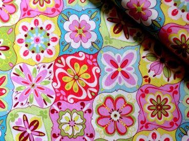 Baumwollstoff Splendor multicolour