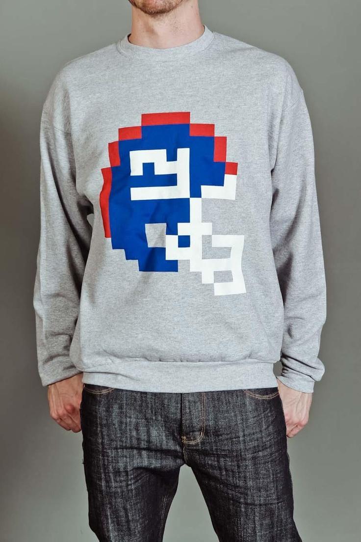 Giants eight-bit sweatshirt