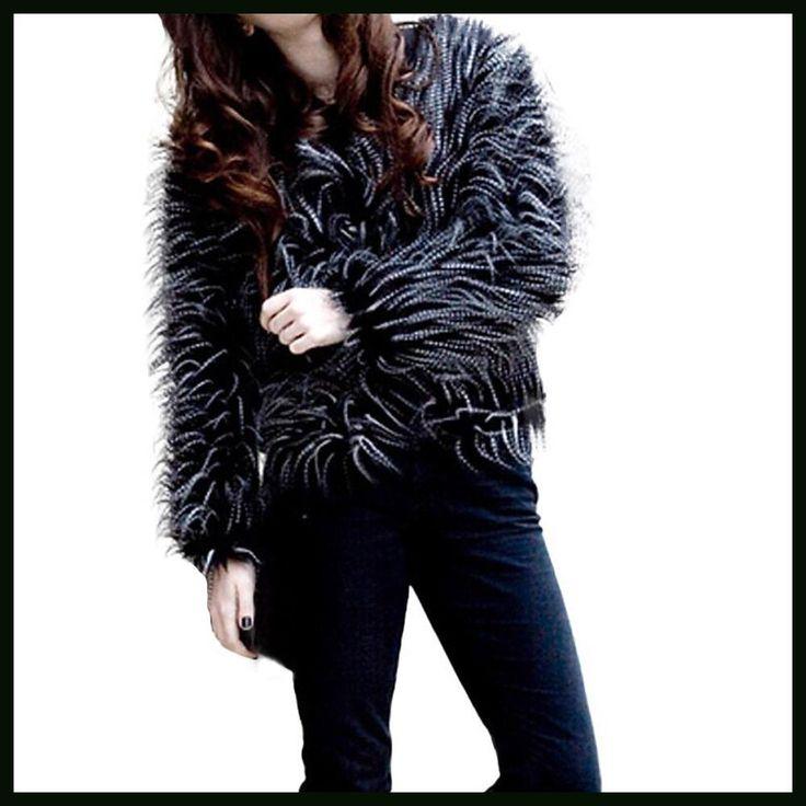 Fashion Womens Winter Warm Thick Coat Jacket Velvet Faux Fur Outwear Cardigan Abrigos De Mujer Elegantes