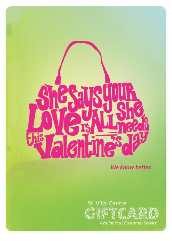 St. Vital Centre: Giftcard Posters, Purse