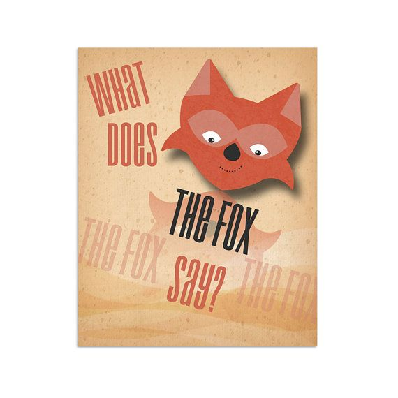 17 best What does the fox say images on Pinterest | Fox, Foxes and ...