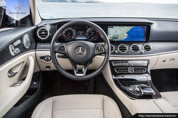 Mercedes E200 là thế hệ thứ 10 của E-Class, sở hữu cho bản thân một diện mạo mới, trẻ trung, hiện đại và đậm chất thể thao đặc biệt phần không gian nội thất