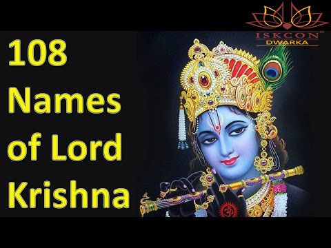 Lord Krishna is the 8th incarnation of Lord Vishnu. He is most widely worshipped among all hindu deities. His 108 names are based on his lifestyle, virtue and deeds.