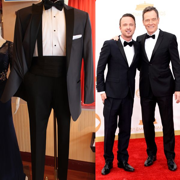 Love Aaron Paul & Bryan Cranston look from the #Emmys2013? Get this look at Mr. Tux with our Portofino tux. Pair it up with a pair of black slacks or go for the combine set together for a complete look.