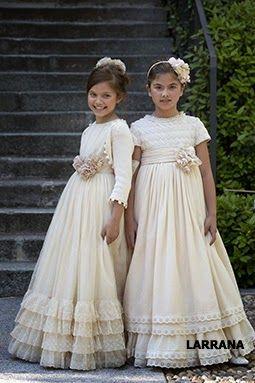 Presentamos nuestra selección de vestidos de primera comunión 2014 2015, con diseño y confección de los más prestigiados diseñadores...