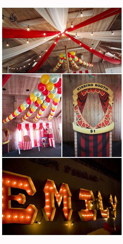 Circus Circus – Inspirationsboard « im Hochzeitsfieber