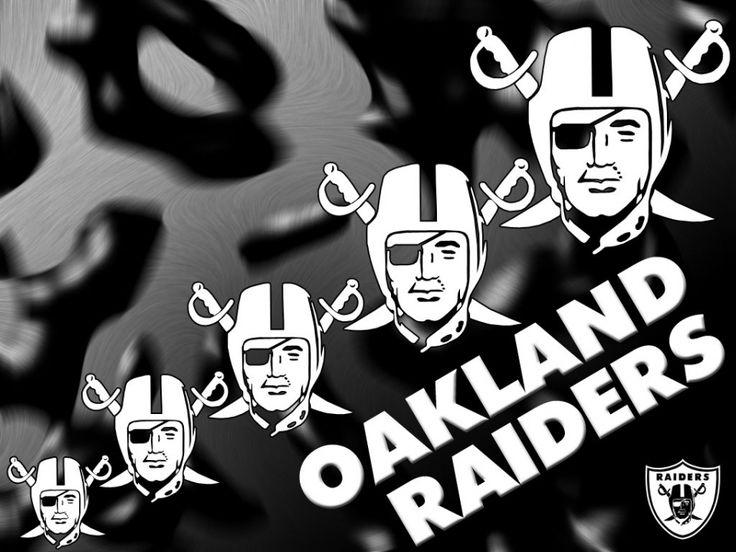 Los Angeles Raiders Wallpaper - Printable Invitation Download