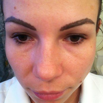 Bad permanent makeup permanent makeup displaying 18 for Tattooed eyebrows gone wrong