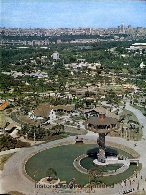 Historia Urbana de Madrid: Las cien cosas que es Madrid (VIII) Parque de atracciones, teleférico y más