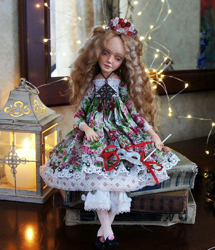 Art Doll Veronika on Etsy www.ArtDollsOsminko.etsy.com